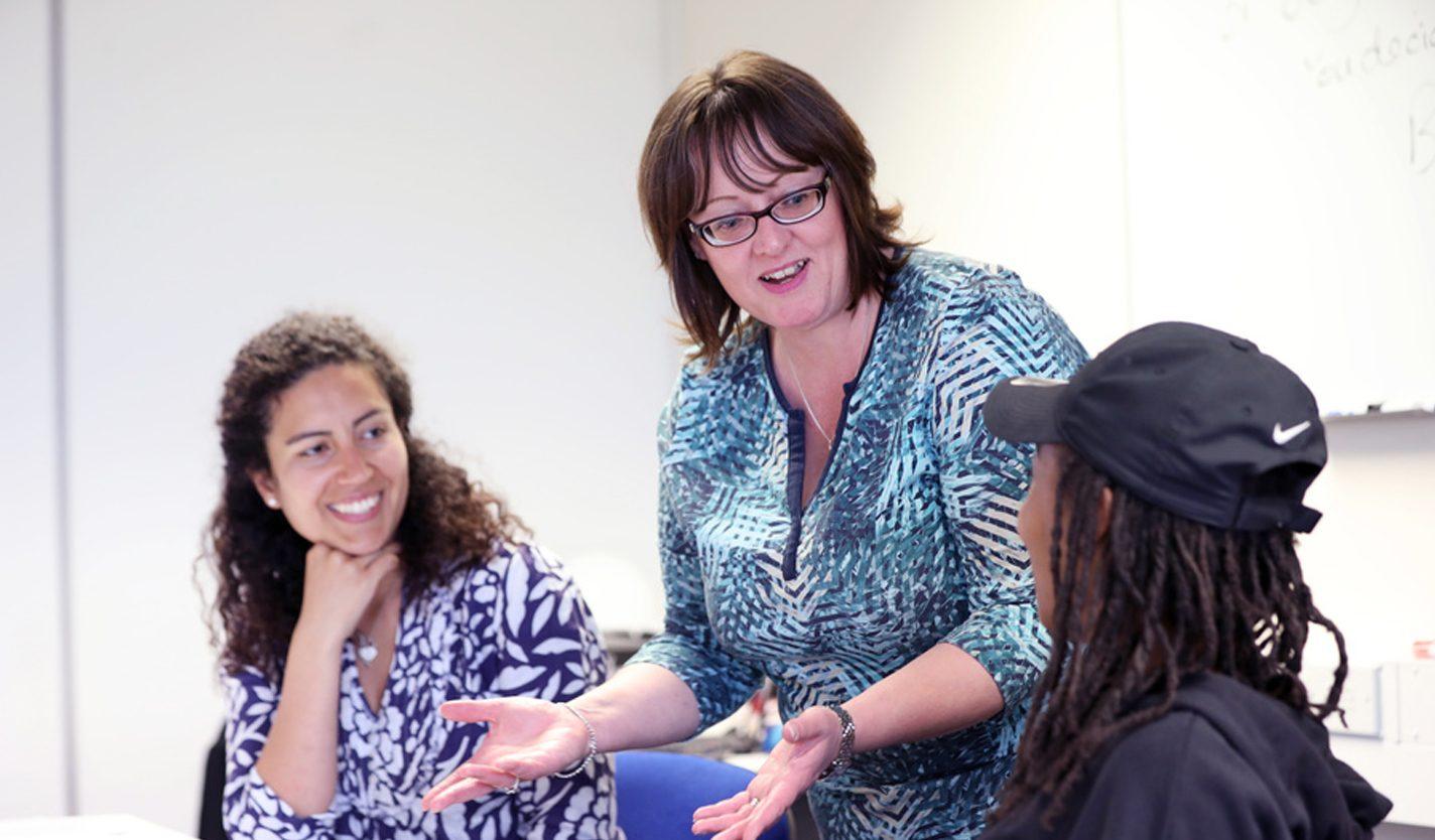 Belinda Yare, Training Co-ordinator for the EDGE Construction Skills Centre