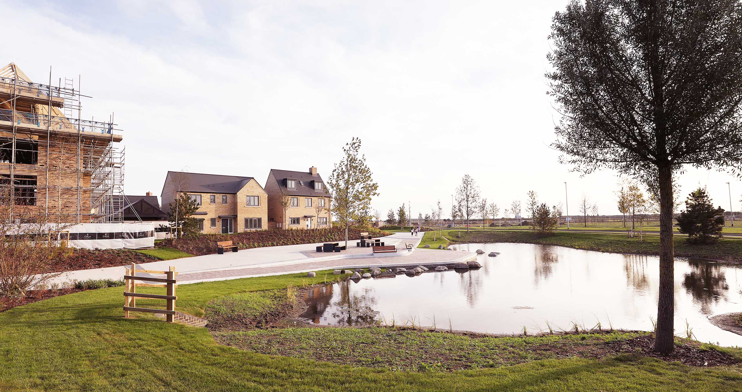 New homes at Wintringham St Neots